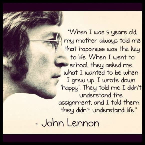 Happiness - John Lennon